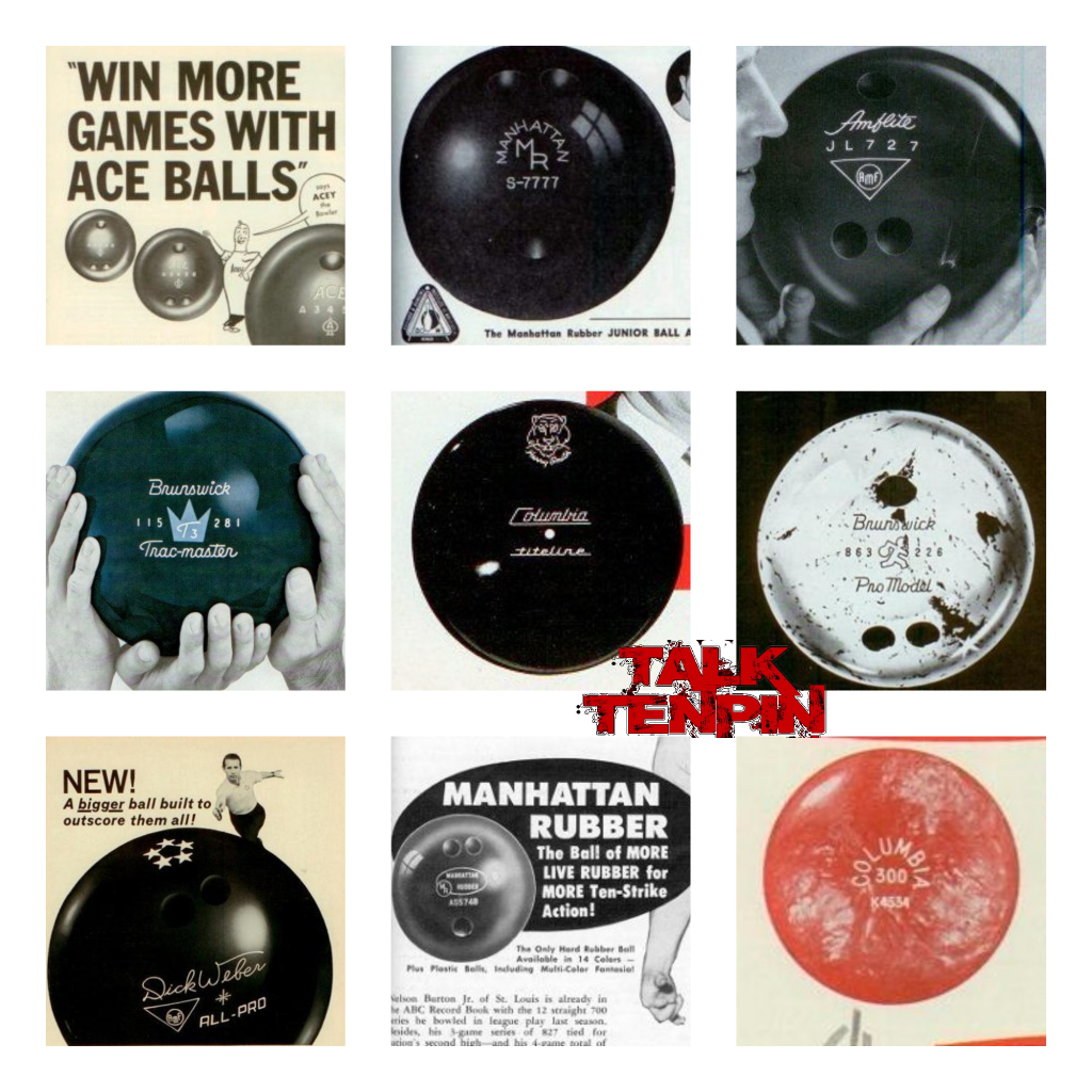 Old Gold – Soooooo many bowling balls from History – Talk Tenpin